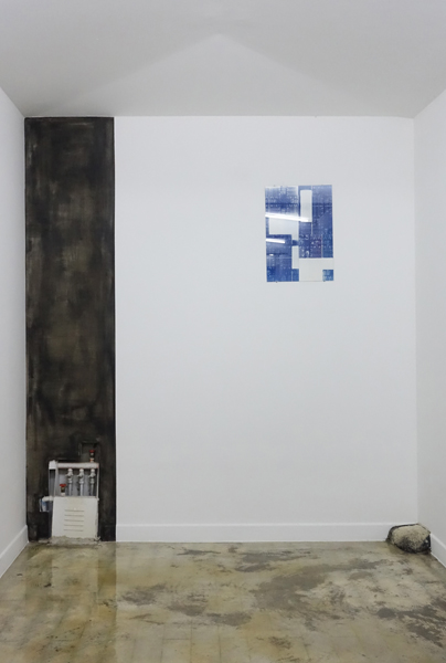 Wall Painting (15 Jongno 22-gil), detail / Blue Print #32